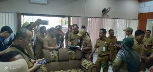 Sidak di DMPTS Provinsi Jambi Pasca Libur Lebaran, 3 Orang Cuti dan 2 Sakit
