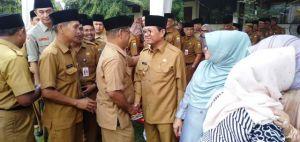 Heboh Soal Sidak, Wahyuddin dan Fachrori Bersalaman di Agenda Halal Bihahal
