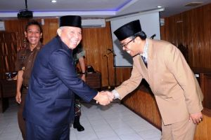 Bupati Safrial Resmi Lantik Pelaksana Harian Sekretaris Daerah