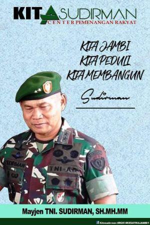 Mengenal Mayjen TNI Sudirman, SH MH MM, Putra Jambi yang Sukses di Kancah Nasional, Ini Profilnya