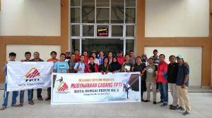 Sukses Gelar Muscab II, Tole S Hadiwarso Terpilih Pimpin FPTI Sungai Penuh