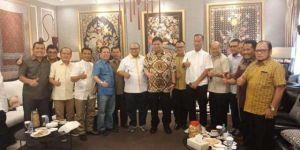 Minus Agus dan Nawawi Hamid, 9 DPD II Golkar Jambi Menghadap Ketua Umum Airlangga Bersama Cek Endra