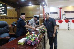 Fraksi - Fraksi DPRD Apresiasi Capaian WTP Pemkab Tanjab Barat