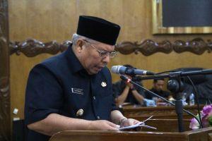 Bupati Safrial Sampaikan Nota Rancangan KUPA dan PPAS Perubahan APBD 2019