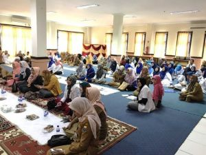 Halal Bihalal RSUD Raden Mattaher Jambi, drg Iwan: Tingkatkan Mutu Pelayanan
