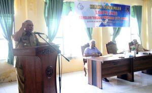 Bupati Safrial Buka Ujian Seleksi Penerimaan Calon Taruna STP Jakarta
