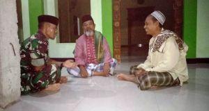 Beribadah Sembari Sosialisasi TMMD