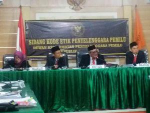 Di Sidang Etik DKPP, KPU Sarolangun Akui Tak Lakukan Faktualisasi