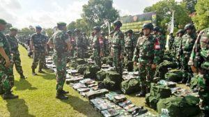 Cek Kesiapan Operasi Satgas Pamtas RI-RDTL, Pangdam II Sriwijaya: Kalian Merupakan Prajurit Pilihan