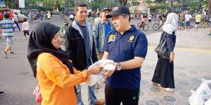Perdana, Komunitas Warga Peradilan Peduli Jambi Berbagi Keberkahan