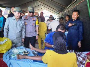 Warga Berterimakasih Ada Kegiatan Sunatan Massal di Pembukaan TMMD