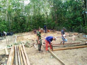 Rumah Percontohan Milik Sriyono Mulai Dibangun