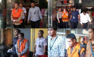 BREAKING NEWS: Empat Tersangka Kasus Suap Ketok RAPBD Jambi Resmi Ditahan