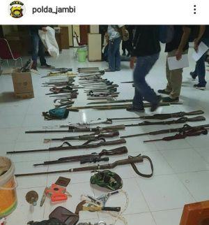 Polda Jambi Tangkap Ketua SMB Bersama Puluhan Pelaku Penyerangan di Batanghari