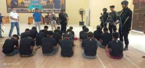 Kembali Buat Onar, 18 Anggota SMB Diringkus Polda Jambi