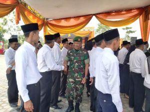 Dan SSK TMMD Kapten Rilman Hadiri Pelantikan Anggota BPD Se Bajubang