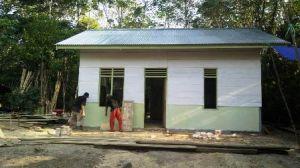 Bangunan Sudah 90 Persen, Impian Sriyono Punya Rumah Layak Huni Terwujud karena Program TMMD