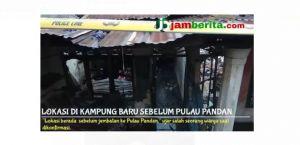 VIDEO: Bedeng Dua Pintu di Legok Terbakar