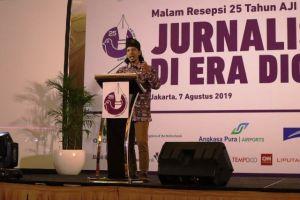 Festival Media AJI di Jambi Resmi Diluncurkan di Peringatan HUT AJI ke-25 di Jakarta