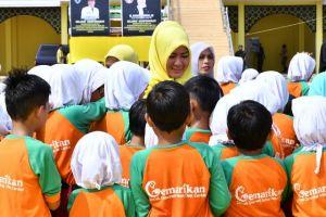 Motivasi Siswa Batanghari, Yunninta Ceritakan Pengalamannya Jalan Kaki Untuk Sekolah