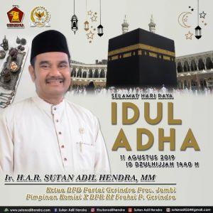 SAH: Makna Sejati Idul Adha Adalah Berbagi dan Saling Peduli