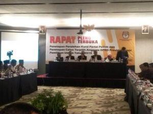 55 Caleg Terpilih DPRD Provinsi Jambi Ditetapkan, Satu Caleg Belum Laporkan LHKPN