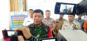 1.512 Personel dan Tim Gabungan Karhutla Diterjunkan, Danrem 042/Gapu: Hari Ini Tidak Ada Api