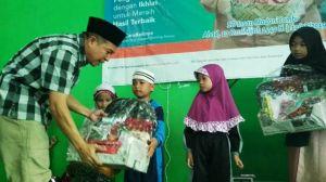 Tak Hanya Penyembilihan Hewan Kurban, Insan Madani-BNI Syariah Gelar Kegiatan Bersama Siswa