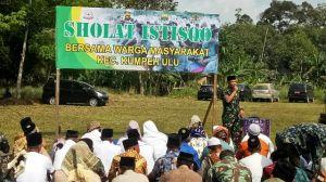 Dandim 0415/BTH Himbau Kepada Masyarakat Jangan Bakar Hutan
