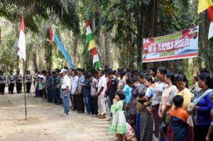 Di Merangin, Warga SAD Gelar Upacara HUT RI, Temenggung: Kami Ko Juga Warga Indonesia