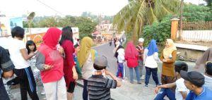 Warga Kelurahan Rawasari Jambi Gelar Jalan Santai Meriahkan HUT RI ke 74