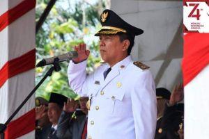 Bupati Batanghari Pimpin Upacara Kemerdekaan RI Ke 74