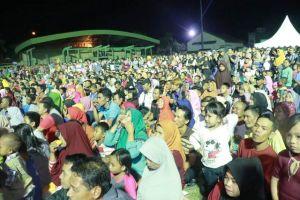Puncak Hari Jadi Kabupaten Tanjabbarat dan HUT RI, Pemkab Tanjabbarat Hadirkan Artis Ibu Kota