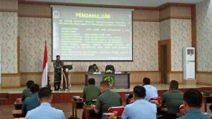 Danrem 042/Gapu Terima Rombongan KKDN Pasis Dikreg XLVI Sesko TNI TA 2019
