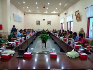 Staf Ahli DPRD Provinsi Jambi Sambut Kunjungan KKDN Pasis Sesko TNI