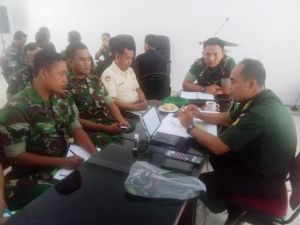 Tim Wasrik Itdam II/Swj Kunjungi Satuan Jajaran Korem 042/Gapu