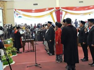 45 Caleg DPRD Kota Jambi Resmi Dilantik