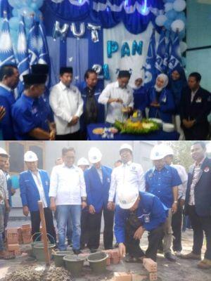 Momen Ultah, PAN Jambi Lanjutkan Pembangunan Gedung DPW