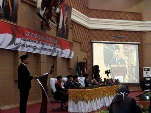 Jadi Pimpinan Sidang Sementara, Yasir Sampaikan Agenda DPRD Kota Jambi