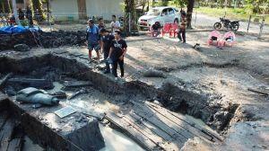 Arkeolog UI Menduga Situs Kapal Zabag Adalah Galangan Kapal Tertua di Asia Tenggara