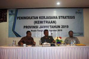Sekda Tanjabbar Hadiri Acara Peningkatan Kerjasama Strategi Kemitraan