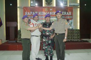 Hidayat Pimpin Resimen Mahasiswa Sultan Thaha Provinsi Jambi periode 2019 - 2022