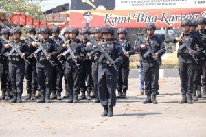 Polda Jambi Tambah 100 Anggota Sat Brimob ke Papua