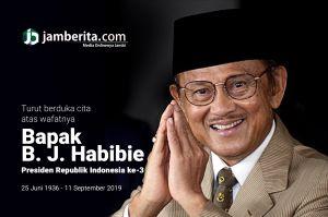 Presiden RI ke-3 BJ Habibie Wafat