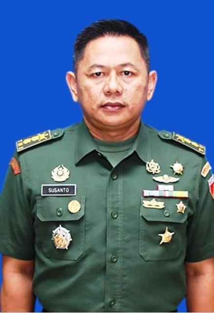 Kapendam IV/Diponegoro Letkol Kav Susanto