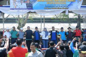 Lima Bupati Juga Bahas Kabut Asap Pada Olahraga Bersama di Kabupaten Kerinci