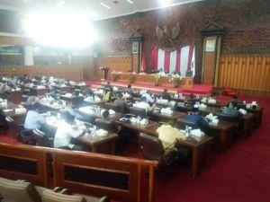 Paripurna Perdana DPRD Provinsi Jambi, Ini 9 Ketua Fraksi Yang Terpilih
