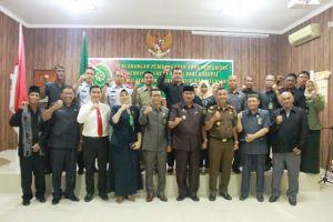 Wabup Amir Sakib Hadiri Deklarasi Pembangunan Zona Integritas PN Kuala Tungkal