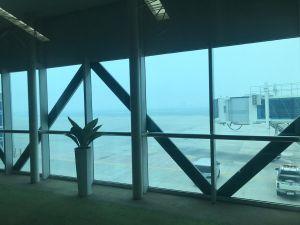 Kabut Asap,  Pesawat Garuda Tujuan Jambi Mendarat Darurat di Palembang