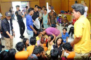 Polda dan Kejati Jambi Fasilitasi Warga SAD Bertemu Keluarganya yang Terlibat Kasus SMB